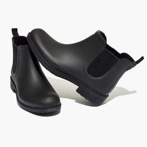 Gently used Madewell rain boots‼️